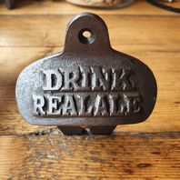 Wall Mounted Bottle Opener Real Ale